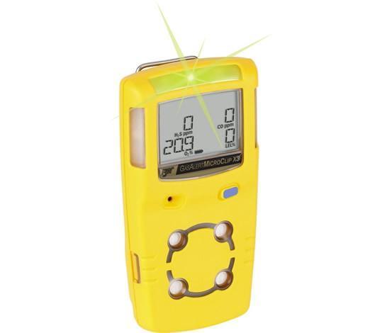 BW Honeywell Technologies GasAlert Micro Clip XL MCXL-XWHM-Y-EU 4 gas detector