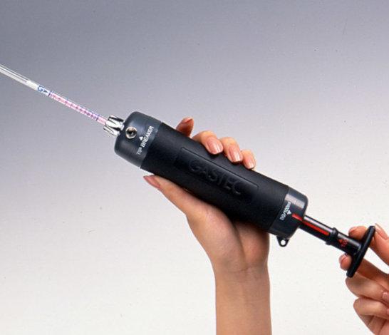 Gastec GV100 Hand Pump in hand